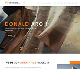 Donald Arch WordPress Theme via ThemeForest