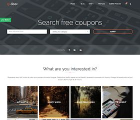 doo WordPress Theme via ThemeForest