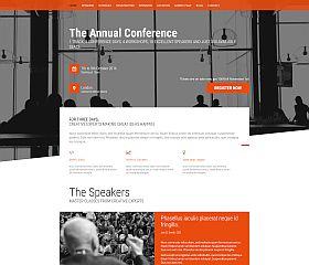 Event WordPress Theme via ThemeForest