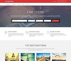 Extretion WordPress Theme via ThemeForest