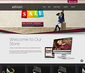 Fashion Shop WordPress Theme via ThemeForest