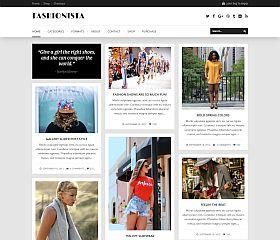 Fashionista WordPress Theme via ThemeForest