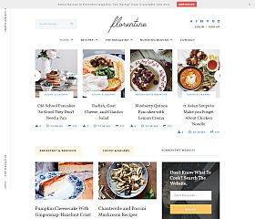 Florentine WordPress Theme via ThemeForest