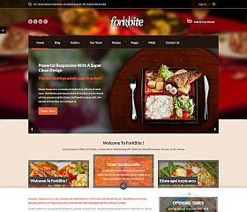 Forkbite WordPress Theme via ThemeForest