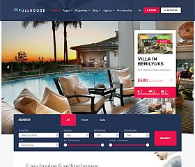 FullHouse WordPress Theme via ThemeForest
