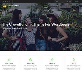 Fundingpress WordPress Theme via ThemeForest