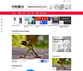 Furious WordPress Theme via ThemeForest