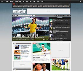 Gameday WordPress Theme via ThemeForest
