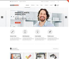 GoodWork WordPress Theme via ThemeForest