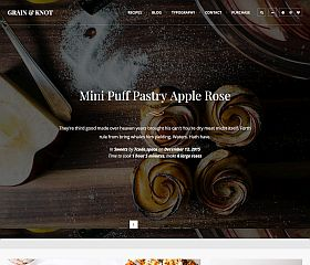 Grain & Knot WordPress Theme via ThemeForest