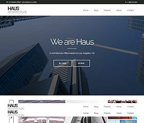 Haus WordPress Theme via ThemeForest