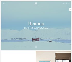 Hemma WordPress Theme via ThemeForest