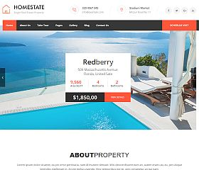 Home State WordPress Theme via ThemeForest