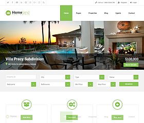 Homeland WordPress Theme via ThemeForest