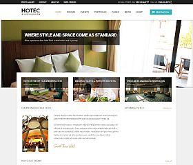 Hotec WordPress Theme via ThemeForest