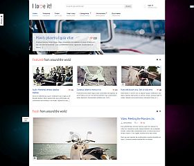 I Love It! WordPress Theme via ThemeForest