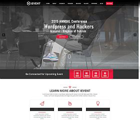 iEvent WordPress Theme via ThemeForest