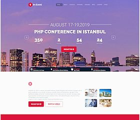 im Event WordPress Theme via ThemeForest