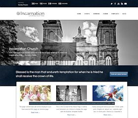 Incarnation WordPress Theme via ThemeForest