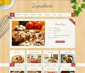 Ingredients WordPress Theme via ThemeForest