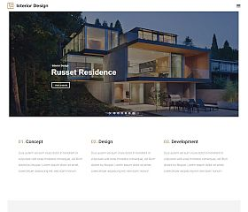 Interior Design WordPress Theme via ThemeForest