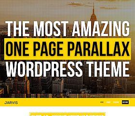 Jarvis WordPress Theme via ThemeForest