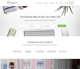 Jobify WordPress Theme via ThemeForest