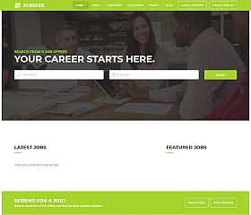 JobSeek WordPress Theme via ThemeForest