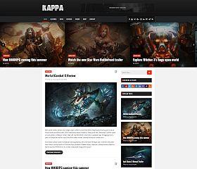 Kappa WordPress Theme via ThemeForest