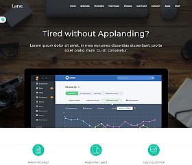 Lane WordPress Theme via ThemeForest