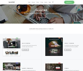 Launchkit WordPress Theme via ThemeForest