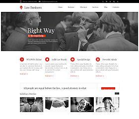 LawBusiness WordPress Theme via ThemeForest