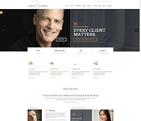 Lawyer & Attorney WordPress Theme via ThemeForest