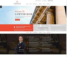 Lawyer Base WordPress Theme via ThemeForest