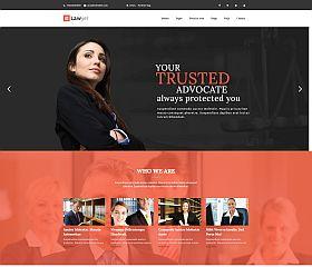 Lawyer Multipurpose WordPress Theme via ThemeForest