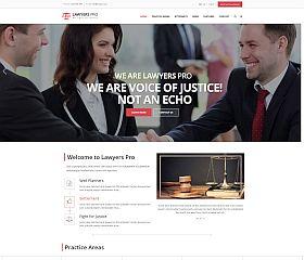 Lawyer Pro WordPress Theme via ThemeForest