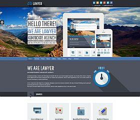Lawyer WordPress Theme via ThemeForest