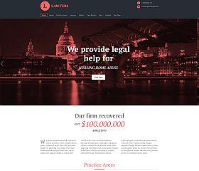 Lawyers WordPress Theme via ThemeForest
