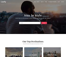Listify WordPress Theme via ThemeForest