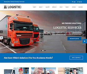 Logistic Pro WordPress Theme via ThemeForest