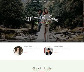 Marriage WordPress Theme via ThemeForest