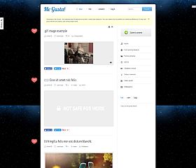 Me Gusta! WordPress Theme via ThemeForest