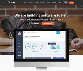 Meminz WordPress Theme via ThemeForest