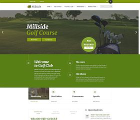 Millside WordPress Theme via ThemeForest