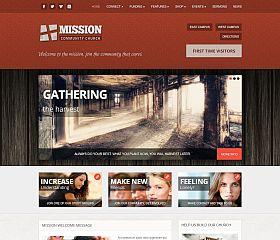 Mission WordPress Theme via ThemeForest