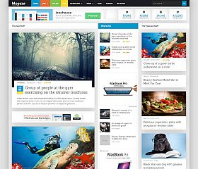 Mogoze WordPress Theme via ThemeForest