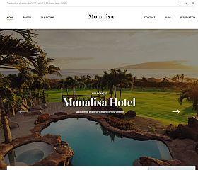 Monalisa Hotel WordPress Theme via ThemeForest