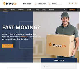 MoveCo WordPress Theme via ThemeForest