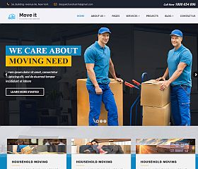 MoveIt WordPress Theme via ThemeForest