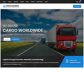 Mowasalat WordPress Theme via ThemeForest